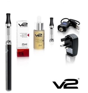 Editors Choice. The best shisha pen kit. The V2 express e-shisha pen kit in black.