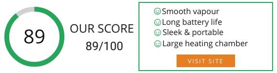 Mig Vapor Torpedo Loose Leaf Vaporizer review Score