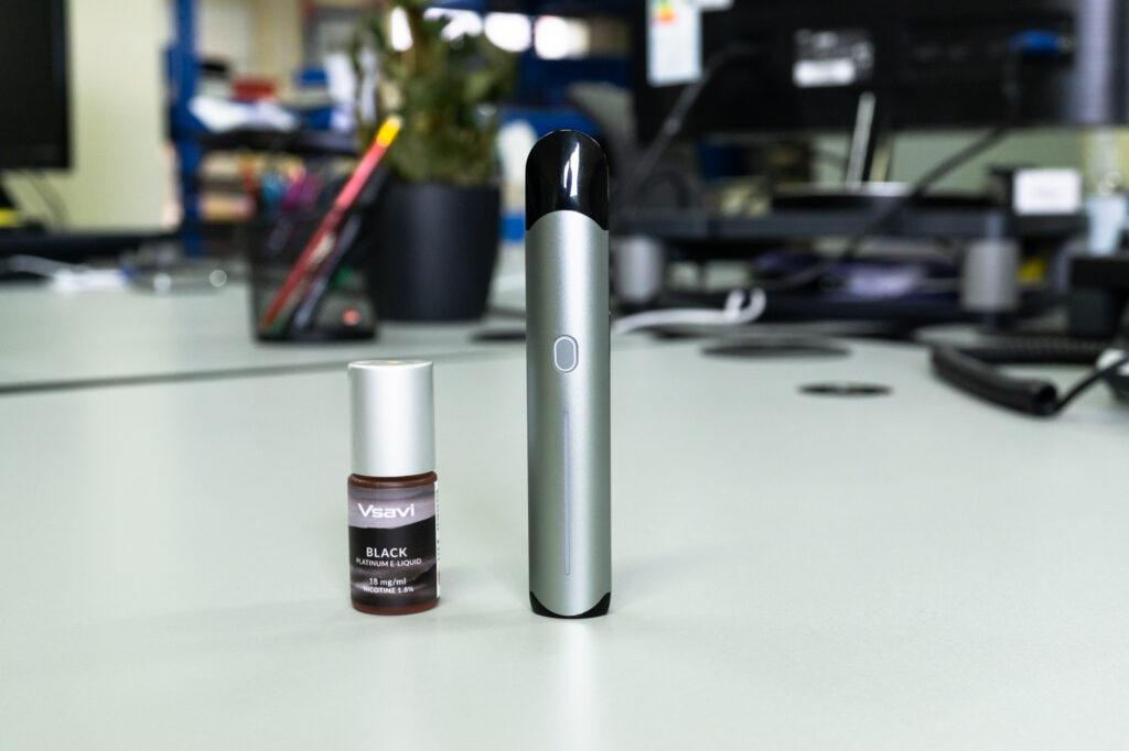 iQ Touch with VSAVI Platinum e-liquid