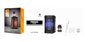 GeekVape Aegis X Kit Contents