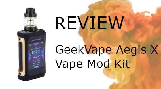 GeekVape Aegis X Cerberus Tank Review
