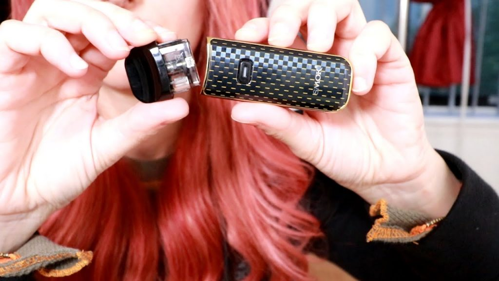 Smok Nord 2 with a pod
