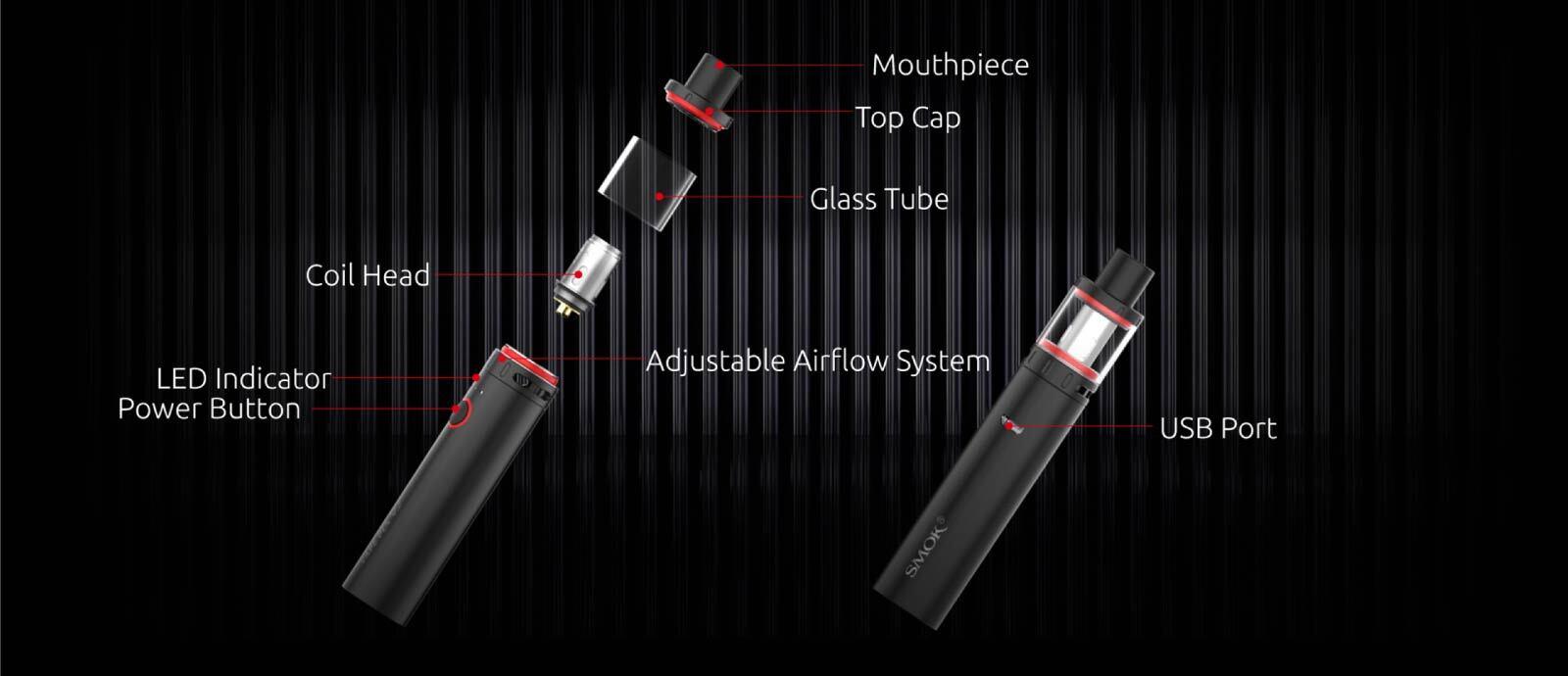 Smok Vape Pen V2 components